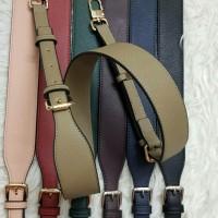 MK style adjustable saffiano bag strap