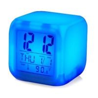 promo asyik Jam weker alarm Moody Clock Kubus Berubah 7 Warna Pengukur 18c53f3f6c