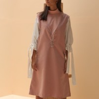 Someday Clothing - Dress Wanita Aretha Pink Zipper