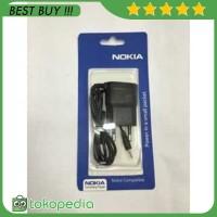 OEM Charger Nokia N95 Lubang / Ujung Kecil - Hitam -O931