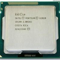 Processor Intel G2020 Tray + Fan Original Dual Core LGA 1155