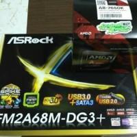 Paket Processor AMD A8 7650K Box dan Motherboard Asrock FM2A68M-DG3