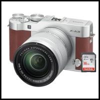 Harga obral fujifilm x a3 fuji x a3 xa3 kit 16 50mm kamera mirrorless   Pembandingharga.com