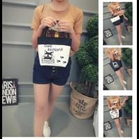 BIG SALE Tas Jinjing Wanita import / Lunch Bag / Tas Multifungsi