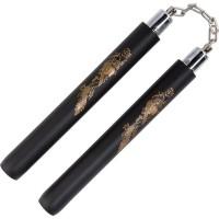 Double Stick Naga Hitam Alat Bela Diri