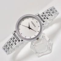 Import jam tangan FOSSIL WANITA LOVE INDEX DIAMOND RANTAI
