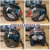 helm ink centro double visor replika kw murah warna hitam met Terlaris
