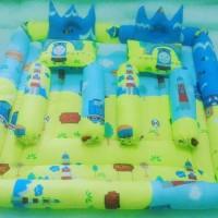 kasur bayi 2in1/bayi kembar motif tomas