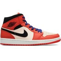 03203dc8101412 sepatu basket nike air jordan 1 mid se team orange art 852542 800