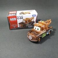 Tomica Disney Cars C-04 Mater - ORIGINAL TAKARA TOMY Mini Cars