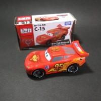 Tomica Disney Mini Cars C-15 Lightning McQueen - ORIGINAL TAKARA TOMY