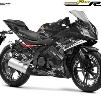 Decal stiker Yamaha R15 Black Panther