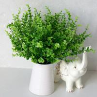 Daun Ekaliptus daun bunga plastik palsu artificial