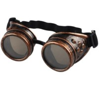 Unisex Retro Cyber Goggles Steampunk Welding Gothic Cosplay Vintage