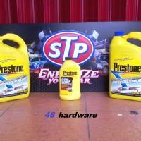 PRESTONE Antifreeze Radiator COOLANT GALON BLUE BIRU AND FLUSH PACKAGE