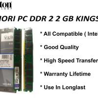 Memori Pc Ddr2 2gb Kingston Pc 6400