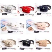51064bc19d9a Tas Chanel Waist Vintage Lambskin Quilted Semi Premium 2211