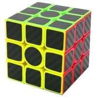 Rubik 3x3 Z-Cube Carbon Speed Cube 3x3x3