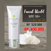 Sunblock Temana Noni Facial Shield SPF50+ & PA++++ Sun Screen