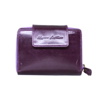 Dompet Kulit Mam Mini Purple - Kenes Leather