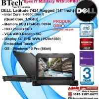 DELL Latitude 7424 Rugged Intel Core i7-8650U/8GB/256GB SSD/WIN10PRO