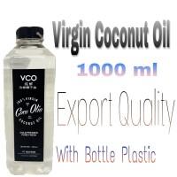 Tulus Coco, 100 % VCO Virgin Coconut Oil Coco Olio 1000 ml, ISO 22000