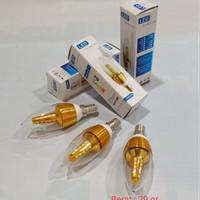 Bohlam Lampu Lilin Cabe LED Candle Hias Strip 5watt E14 Bukan Philips