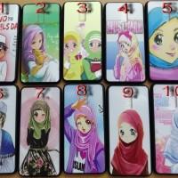 Case Fuze Cute Hijab Xiaomi Redmi S2, Oppo F3, Realme 2, 2 Pro / F9