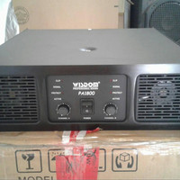 Power Amplifier Wisdom PA 1800