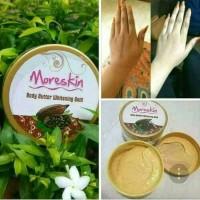 Moreskin body butter whitening gold plus vitamin E original nasa