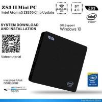 Z83 II Mini PC Intel Atom x5-Z8350 2GB RAM 32GB ROM TV Box WIndows 10