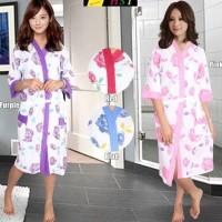 "Kimono Handuk Ibu Cantik ""Beuty Rose"""