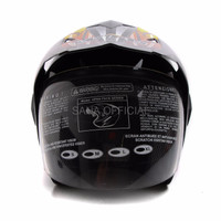 HELM KYT HELM RETRO IMPORT WTO Helmet Pro Sight Cross Double Visor Hi