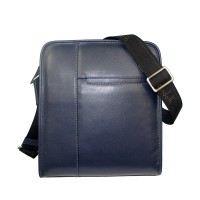 Condotti C-94183- Leather Sling Bag - Blue