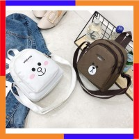 Tas Selempang Wanita Shoulder Bag Model Korea Mini Bear (TSW09) f432c412e6