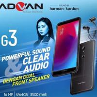 Advan G3 LTE RAM 4GB Garansi Resmi 1 Tahun