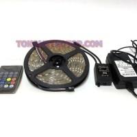 Lampu Led Strips 5050 RGB MUSIK OUTDOOR 5M
