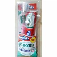 Formula Orthodontic Series sikat dan pasta gigi khusus kawat / behel
