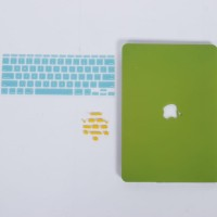 Bundling Promo - Case Macbook Sand + Keyboard Protector + Dust Plug