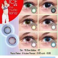 Softlens X2 Ice N8 hazel - grey - blue - violet - pink - norma
