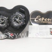 jam tangan COUPLE EXPONI BLACK 6004