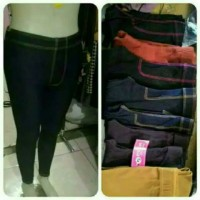 legging semi jeans super jumbo
