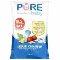PURE BABY LIQUID CLEANSER REFFIL 700ml