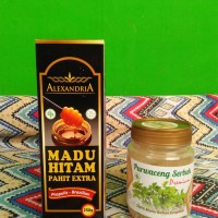 Paket Madu Hitam Pahit Alexandria + purwo_ceng