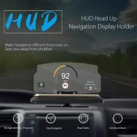 Car Holder Mobile Navigation Display Tempat HP GPS Mobil HUD Universal