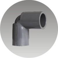 4 inch elbow / knee / L rucika PVC