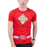 Kaos Power Ranger Red