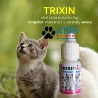 Obat Mata Kucing TRIXIN Atasi Iritasi Belekan Dan Hidung Meler