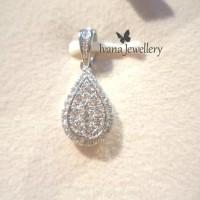 Liontin Berlian Pear shape