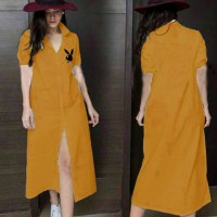 Maxi Dress Long dress Play boy Bordier kubus Tali.1056